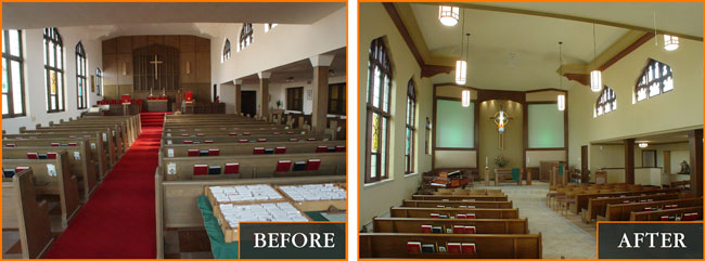 sanctuary renovation